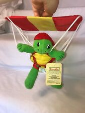 """Franklin the Turtle 7.5"""" Mini Parachuting Plush Toy Doll With Tags"""