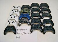 Lot of 19 OEM Microsoft Xbox One Wireless Controllers - AS-IS for Parts/Repair