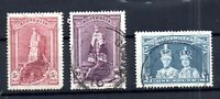 Australia 1949 Robes fine used set #176-178 WS15825