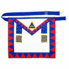 Masonic Regalia Lambskin Leather Holy Royal Arch Provincial Apron RA Chapter