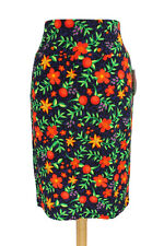 NWT LulaRoe Cassie Floral Printed Pencil Skirt Women's Size Large Textured RARE