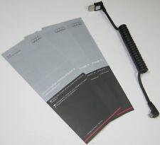 GENUINE AUDI ANGLED MICRO USB MOBILE PHONE BOX CRADLE CHARGE CABLE