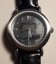 Betty Boop Watch - Motorcycle Betty, Studded - Black