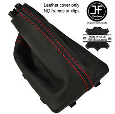 RED STITCH REAL LEATHER AUTO AUTOMATIC GEAR GAITER FITS KIA OPTIMA 2011-2015