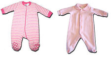 TWO New Size 000 Baby Girl Rompers from Tiny Little Wonders & Target