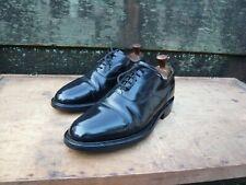 Cheaney Oxford Hombre Zapatos – Negro – UK 8 – Herne-Excelente Estado