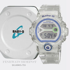 Authentic Casio Baby-G Women's Runner Jellies Color Digital Watch BG6903-7D