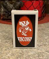 Vintage Carta Mundi Wisconsin Badgers Playing Cards - Belgium