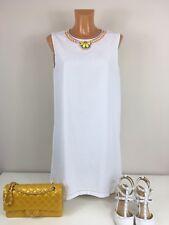 Moschino Love Kleid Sommerkleid Tunika Cocktailkleid Gr. S/36-38 Weis