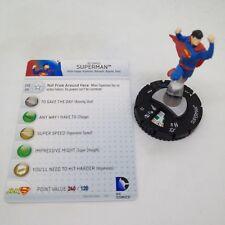 Heroclix Human Target #021 USED Superman Flashpoint Single Figure