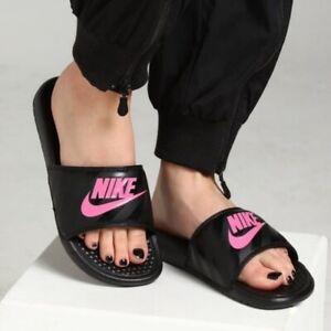 Nike Benassi JDI Women's Slides Sandals Size 8 343881-061