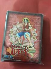 50pcs/Pack DECK PROTECTOR Card Sleeves 65mm*91mm One Piece Luffy as picture in