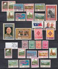 TAIWAN 1976 1977  MNH **  SG CV 38£  52$  CHINA ROC