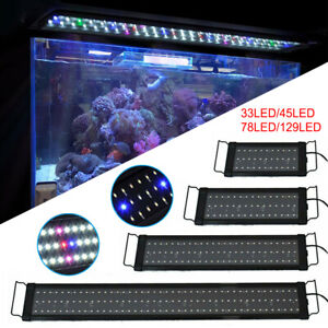 Full Spectrum Aquarium LED Light Lighting Aqua Plant Fish Tank Marine Bar Lamp