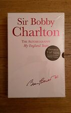 Bobby Charlton SIGNED NUMBERED LIMITED EDITION Autobiography My England Years