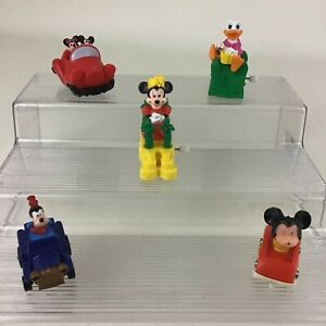 Disney Mickey Mouse & Friends Burger King Wind Up Toys Minnie Goofy Vintage 1991