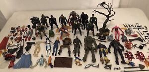 Action Figure Parts Props & Pieces Lot - Defective Damaged & Dented Conditions
