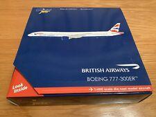 BRITISH AIRWAYS 777-300ER GEMINI JETS 1/400 GJBAW1365 RARE 777 L/GEAR BOEING BA