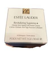 Estee Lauder Revitalizing Supreme+ Global Anti-Aging Cell Power Creme 1oz  New