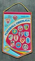 Orig. Wimpel DDR Oberliga 1989/90 Fußball Jahreswimpel BFC Dynamo Leipzig Lok