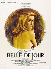 Belle de jour (1967) Catherine Deneuve Luis Bunuel movie poster print 3