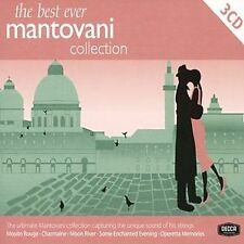 """The Best Ever Mantovani Collection: (CD: 3 DISCS)  """"BRAND NEW,  UNSEALED"""""""