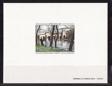 épreuve de luxe   tableau  Corot    1977   num: 1923