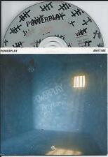 POWERPLAY - Anytime CD SINGLE 2TR CARDSLEEVE 1994 HOLLAND RARE!!