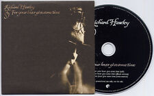 RICHARD HAWLEY For Your Lover Give Some Time UK 3-trk promo CD