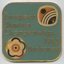 Orig.part.medal   European Shooting Championships BUCAREST (Romania) 1983  !!