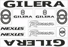 Gilera Runner Nexus Motorcycle Decals Stickers Bike Graphic Set Vinyl Logo Black