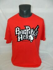 Bagpipe Hero Red Mens Large T Shirt 2009 Got Kilt 2009 bag pipe highland