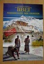 (P448) Orig. Kinopl. Clemens Kuby's TIBET WIEDERSTAND DES GEISTES