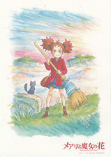 Mary and the Witch's Flower Movie Genga Print Promotion Chirashi Studio Ponoc