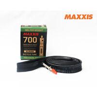 2x MAXXIS Premium Bicycle Inner Tube 48mm Presta Valve 700*18/25C [03000635]
