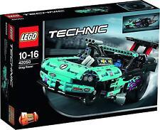 LEGO TECHNIC  DRAG RACER  DRAGSTER 10-16 ANNI LUNGHEZZA 46 CM  ART 42050