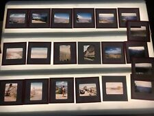 Vintage Kodachrome Red Border Slides 1955 Couple Visit Grand Canyon Vacation