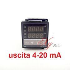 TERMOREGOLATORE DIGITALE DI TEMPERATURA 0 + 400° C REX-C100  USCITA   4-20 mA