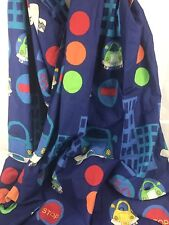 kool kidz character world Kids curtain cars print two panel 72X60""
