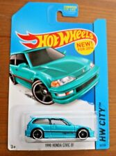 Hot Wheels 2014 HW City #30/250 1990 Honda Civic EF Turquoise