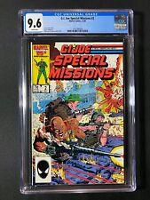 G.I. Joe Special Missions #2 CGC 9.6 (1986)