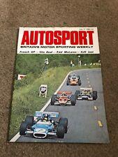 JULY 11 1969 AUTOSPORT vintage car magazine