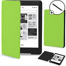 Forefront Cases Green Shell Smart Case Cover Kobo Aura One Stylus