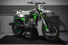 Rebound mx graphics kit to fit kawasaki KX KXF 65 85 125 250 450 all years green