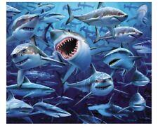JAWS `BITE` BEACH TOWEL FILM MOVIE POSTER SHARK BRAND NEW 150CM X 75CM