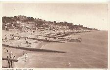 Suffolk Postcard - Felixstowe from The Pier   V1991