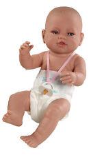 Berbesa - Bebe recién nacido pañal Reborn 42 cm vinilo. En caja (5105)