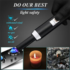 Electric Lighter Arc Plasma Rechargeable USB Kitchen For Candles BBQ&Firework NA