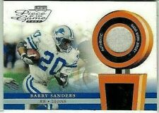 BARRY SANDERS 2002 PLAYOFF PIECE OF THE GAME GAME USED JERSEY