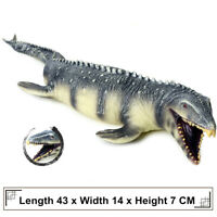 "17"" Mosasaurus Mososaurs Figure Dinosaur Model Collector Kid Toy Animal Predator"